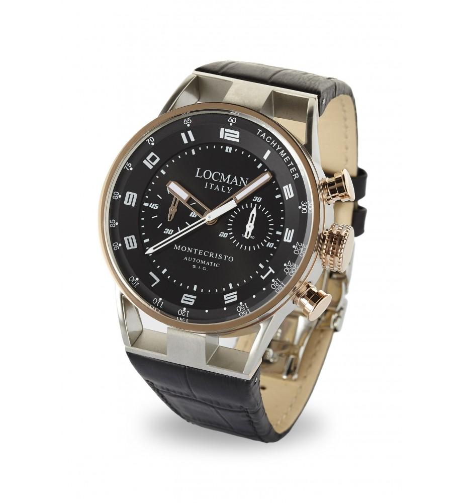 Locman Montecristo orologio cronografo meccanico automatico