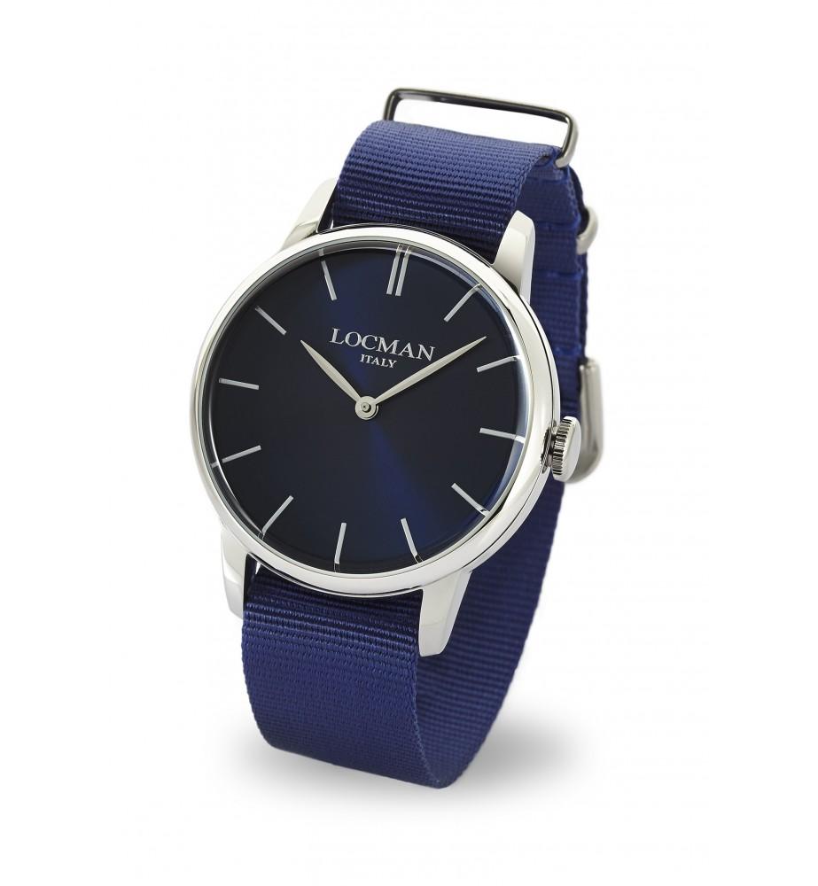 Locman 1960 orologio solo tempo classico rosso