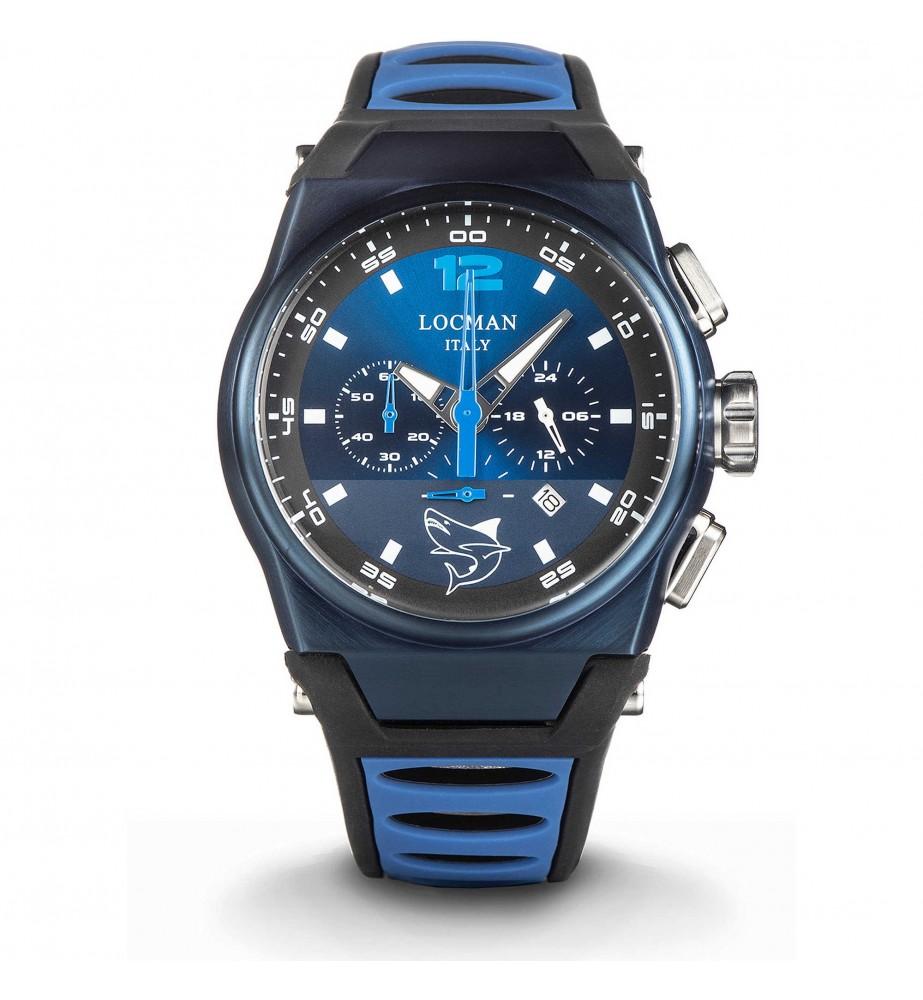 Locman Orologio Uomo cronografo MARE pvd blu 0555b02s blblsksb